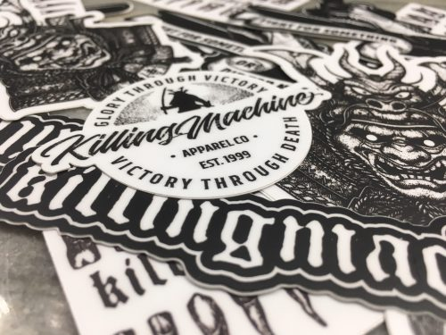 Killing Machine Apparel Co - Sticker Packs